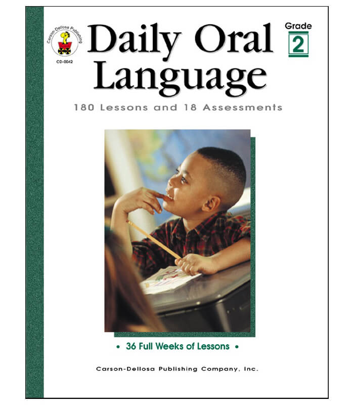 Daily Oral Language Resource Book Grade 2 : Carson-Dellosa ...