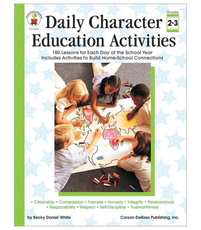 Daily Character Education Activities Resource Book