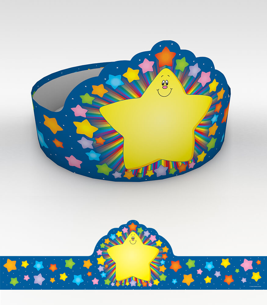 Rainbow Star Crowns