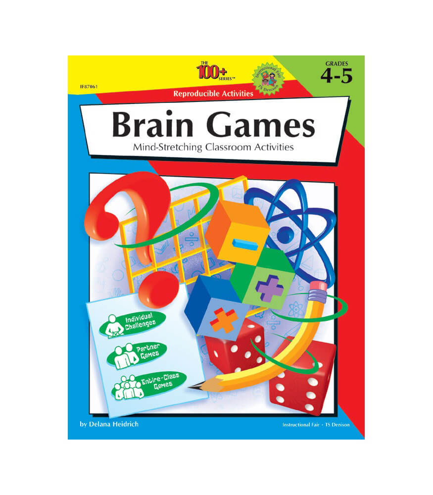 The 100+ Series Brain Games Workbook