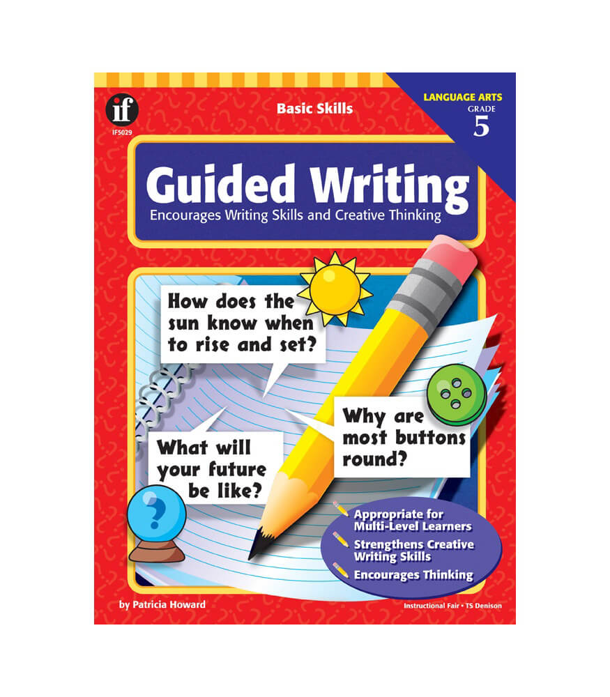 basic skills guided writing workbook grade carson dellosa basic skills guided writing workbook