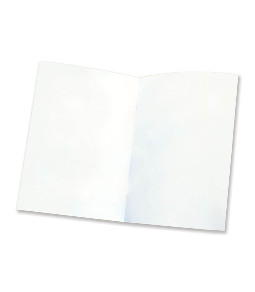 Rectangle Blank Book for Young Authors Activity Book