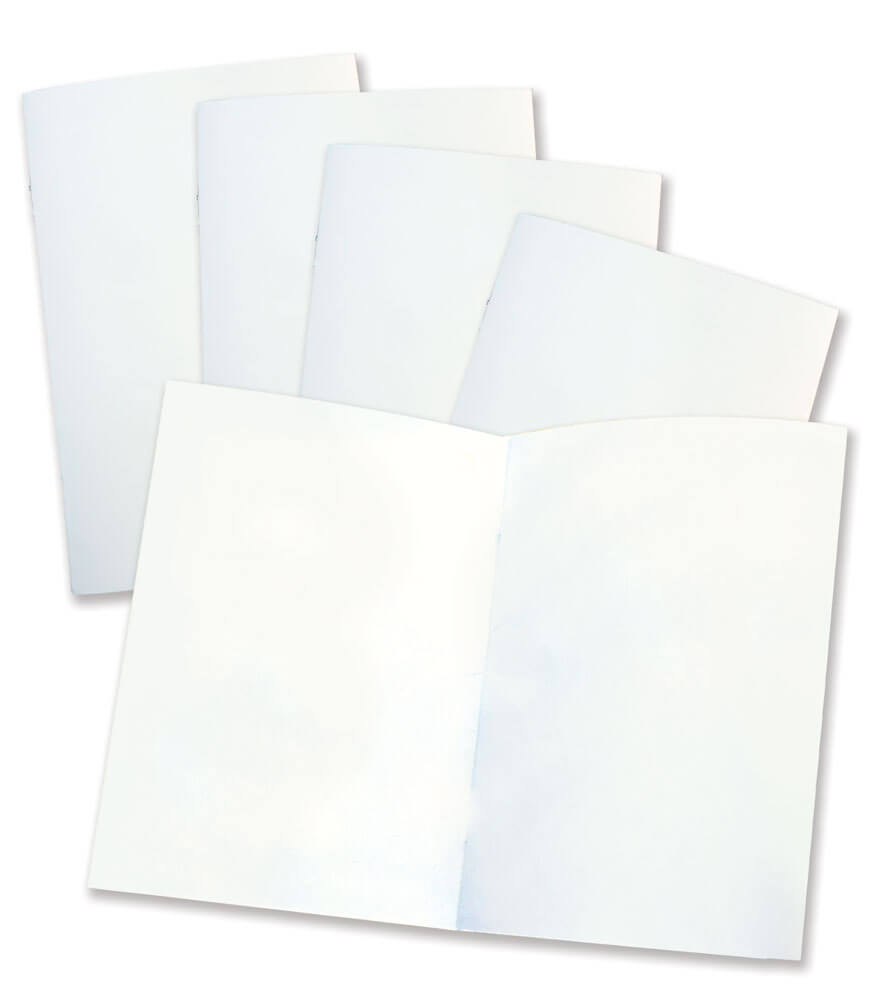 Rectangle Blank Book for Young Authors (12-pack) Resource Book