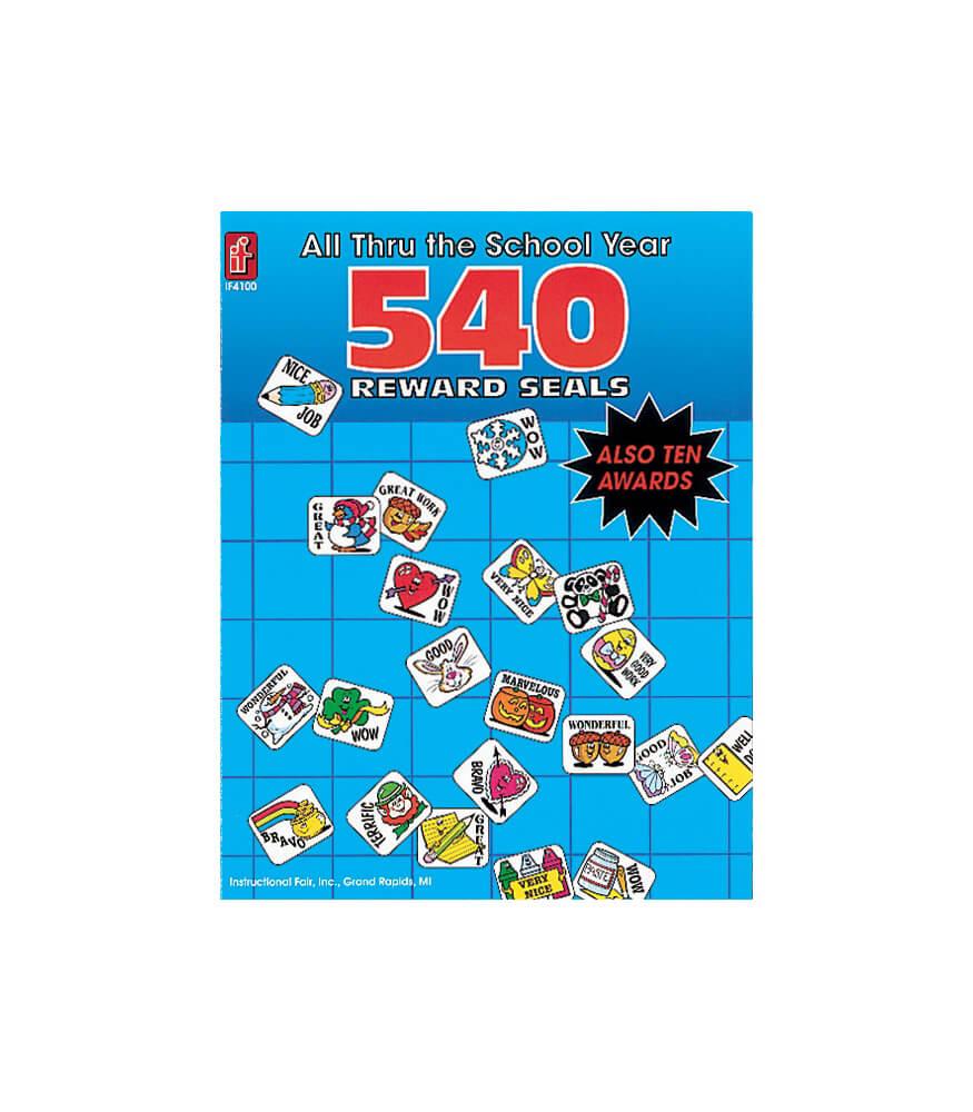 All Thru the School Year Sticker Book