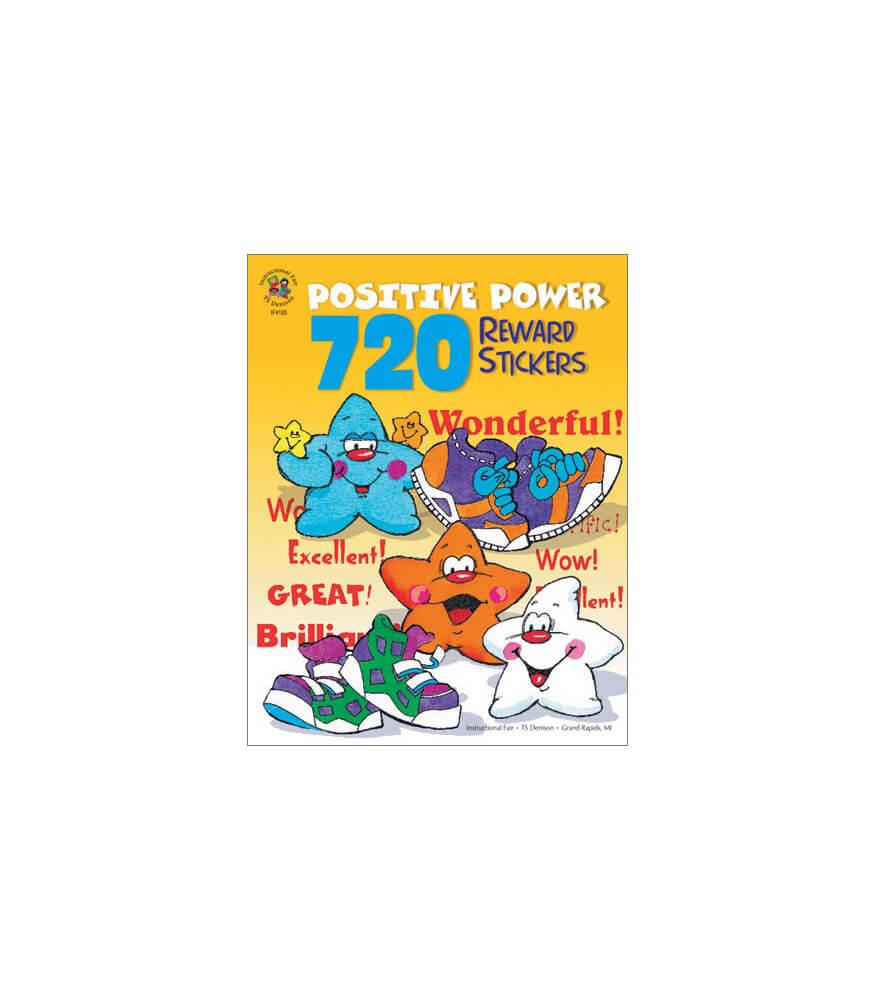 720 Positive Power Reward Stickers Sticker Book