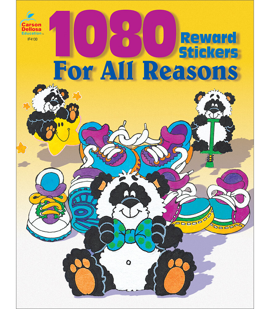 1080 Reward Stickers For All Reasons Sticker Book