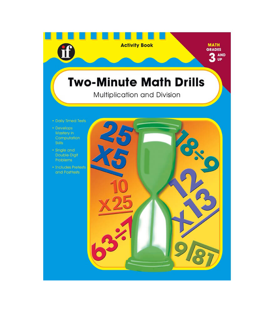 Two-Minute Math Drills Workbook