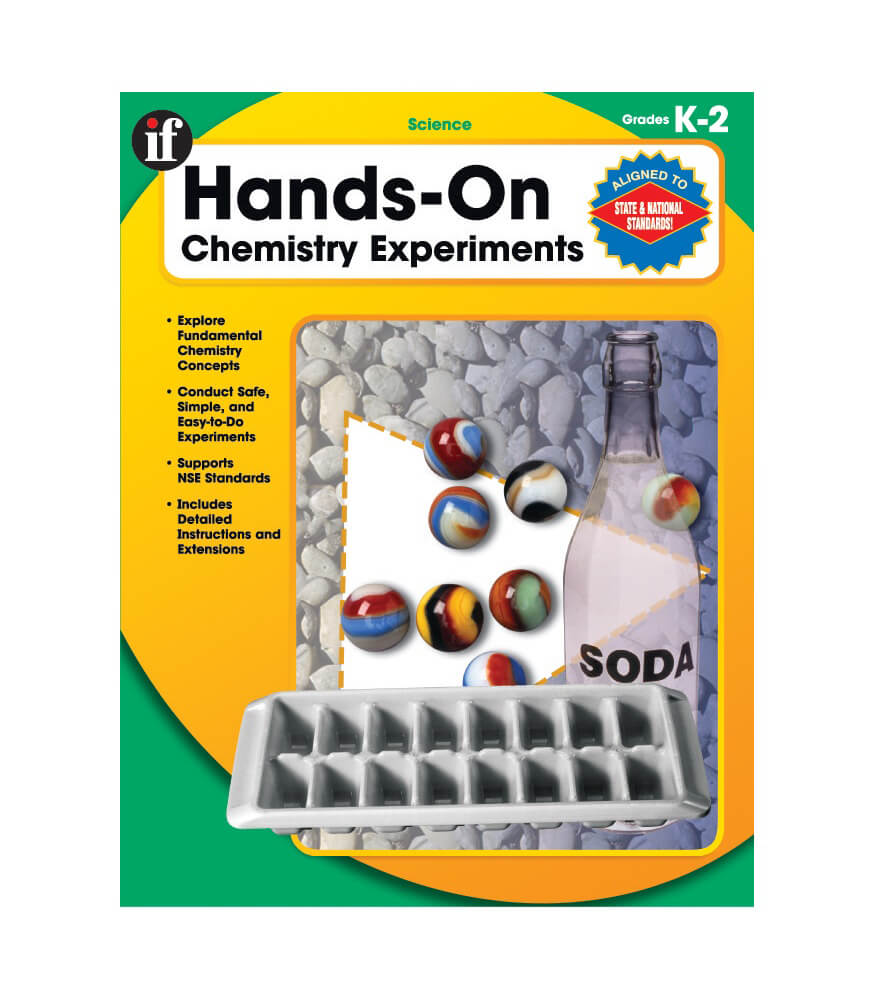 Hands-On Chemistry Experiments Resource Book Product Image