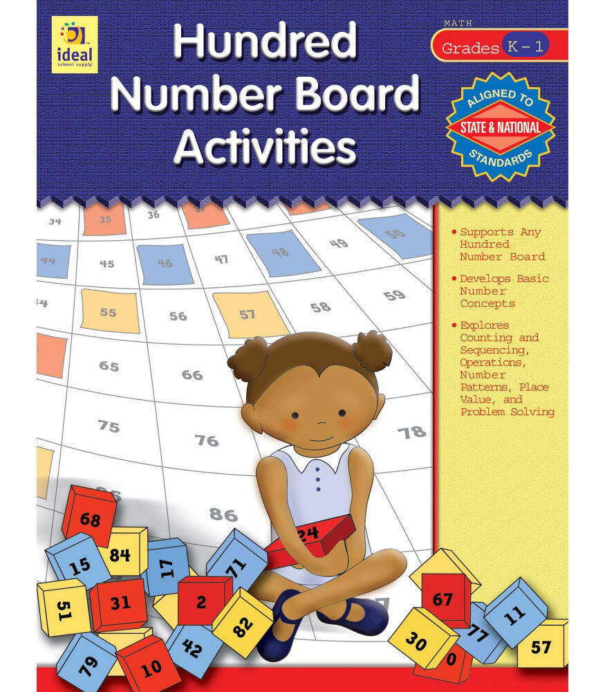 Hundred Number Board Activities Resource Book