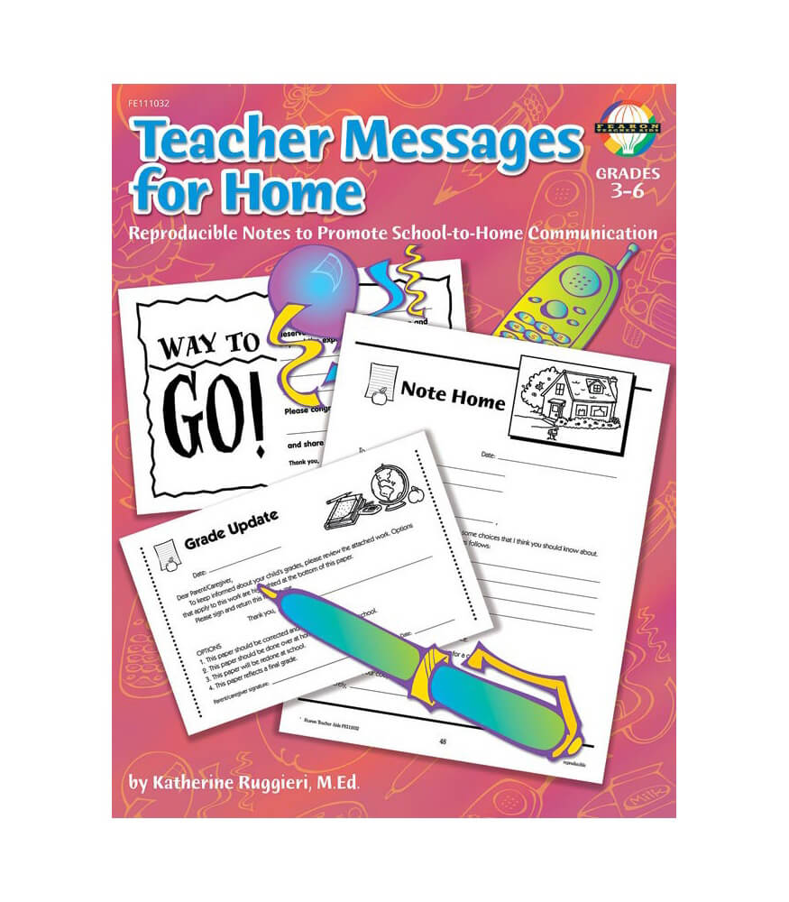 Teacher Messages for Home Resource Book Product Image