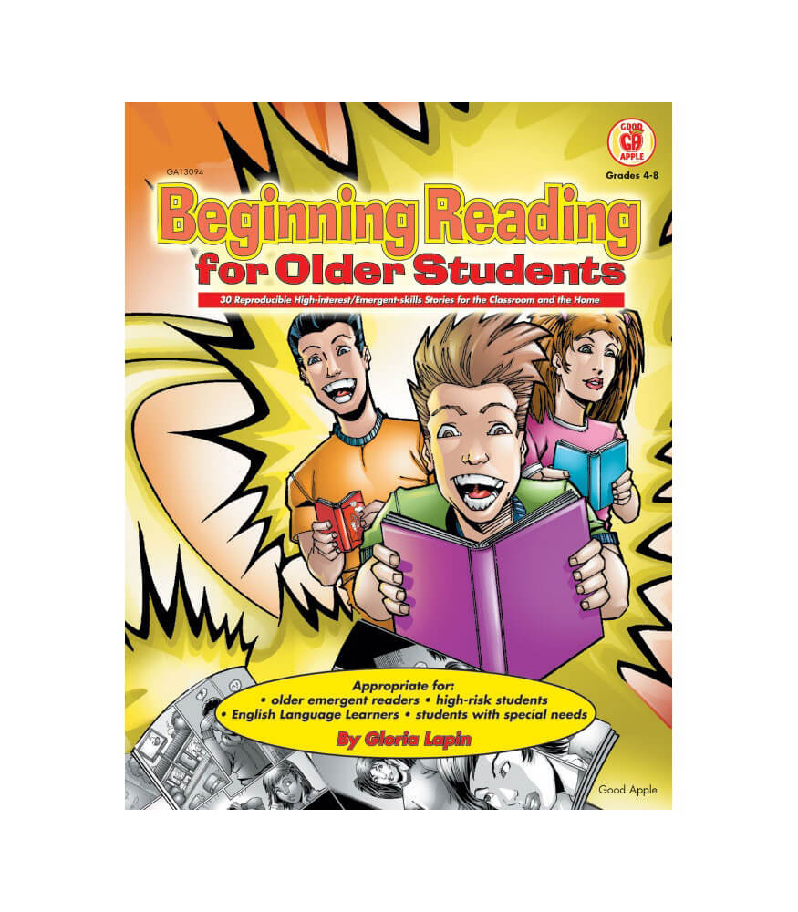 Beginning Reading for Older Students Resource Book Product Image