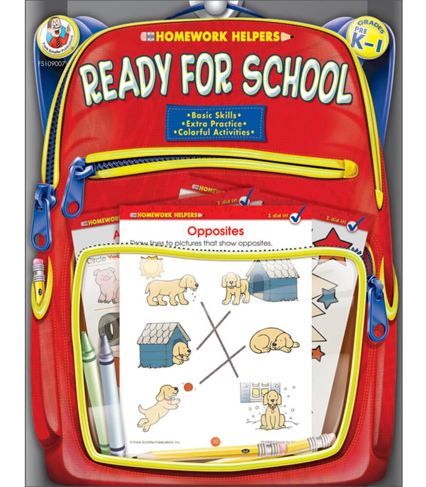 Ready for School Workbook
