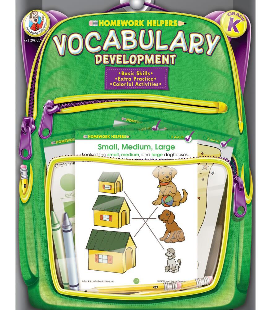 Vocabulary Development Workbook