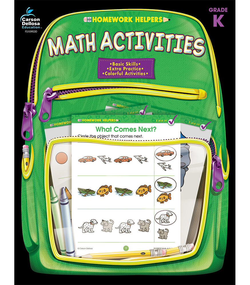Math Activities Workbook Product Image