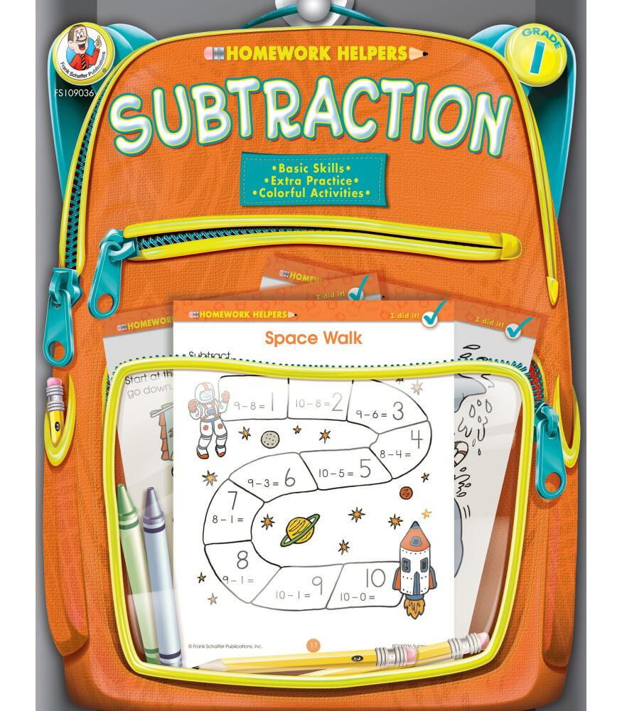 Subtraction Workbook
