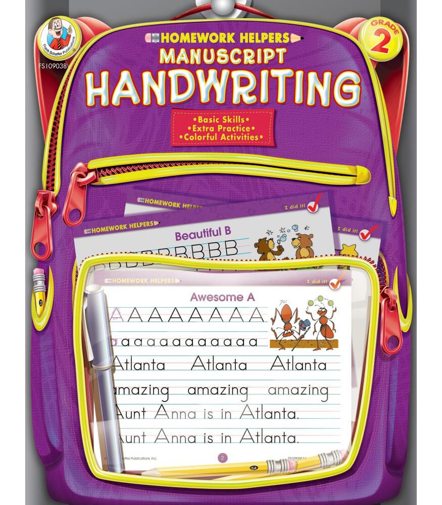 Manuscript Handwriting Workbook