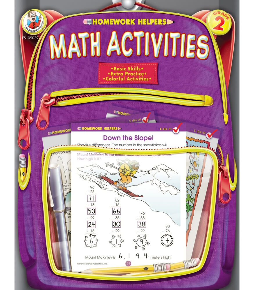 Math Activities Workbook