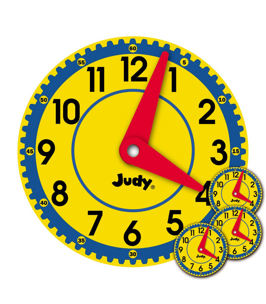 Big Judy® Clock Bulletin Board Set