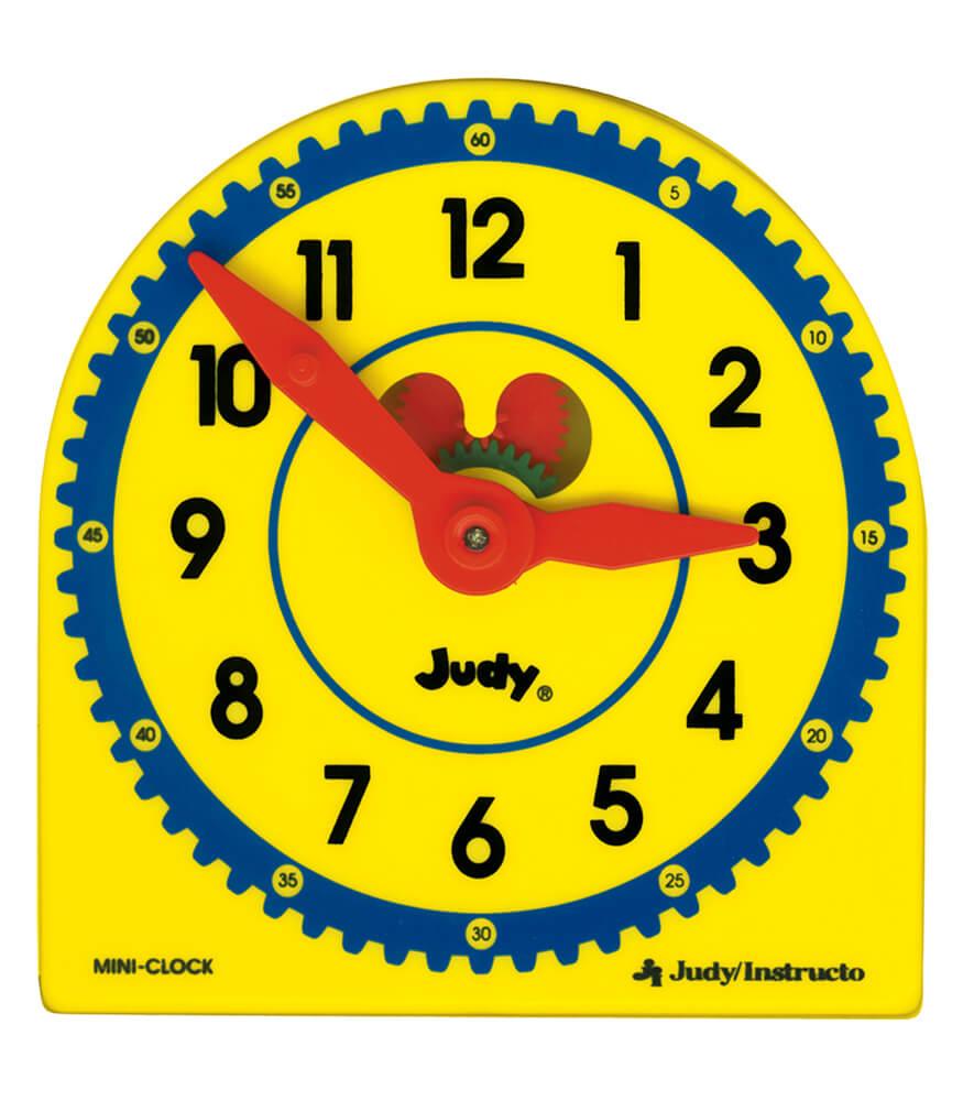 Judy Plastic Clock Class Pack Clock