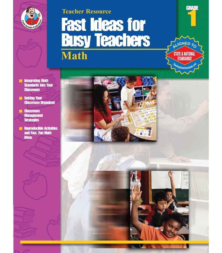 Fast ideas for busy teachers math resource book carson dellosa