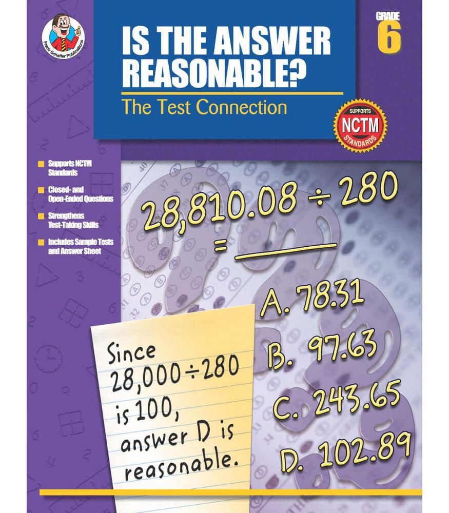 Is the Answer Reasonable? Resource Book