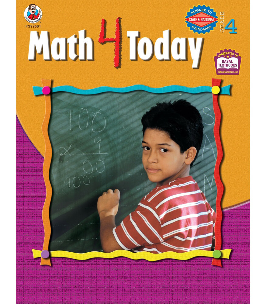 Math 4 Today Resource Book Product Image