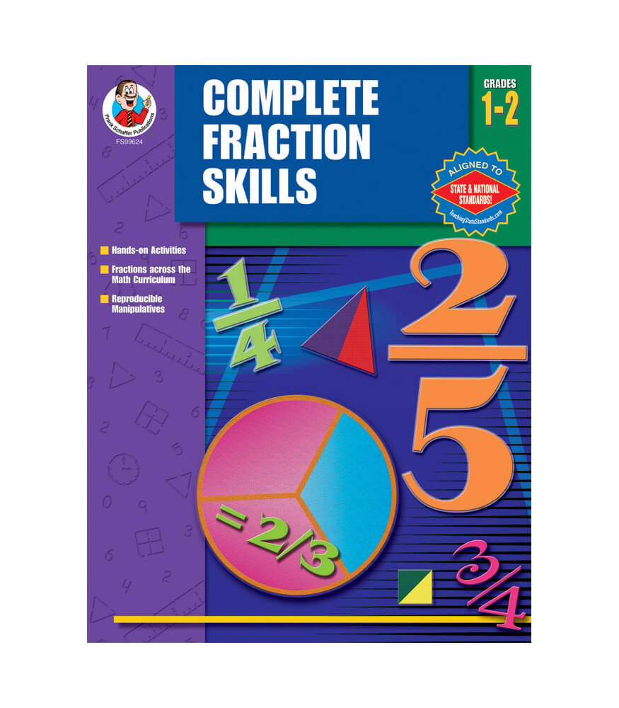 Complete Fractions Skills Resource Book