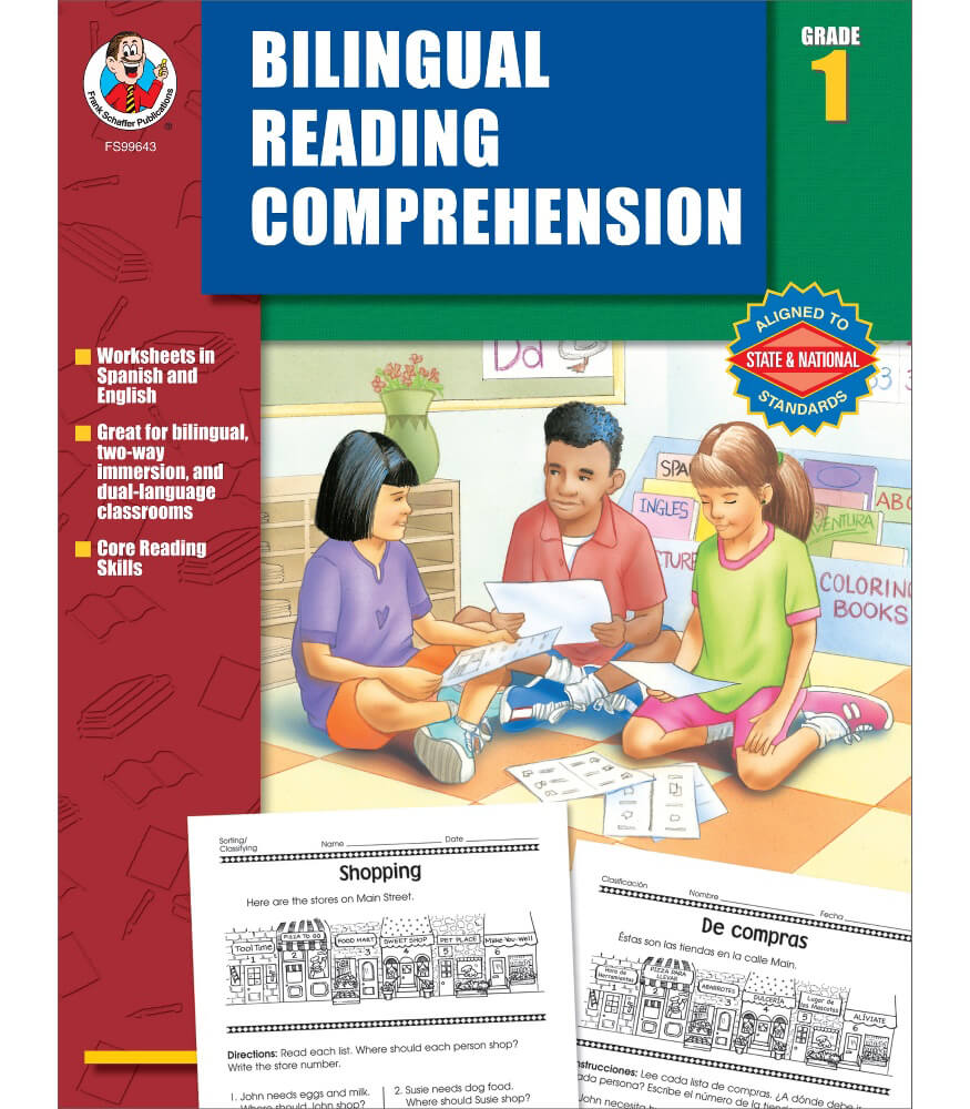 Bilingual Reading Comprehension Resource Book Product Image