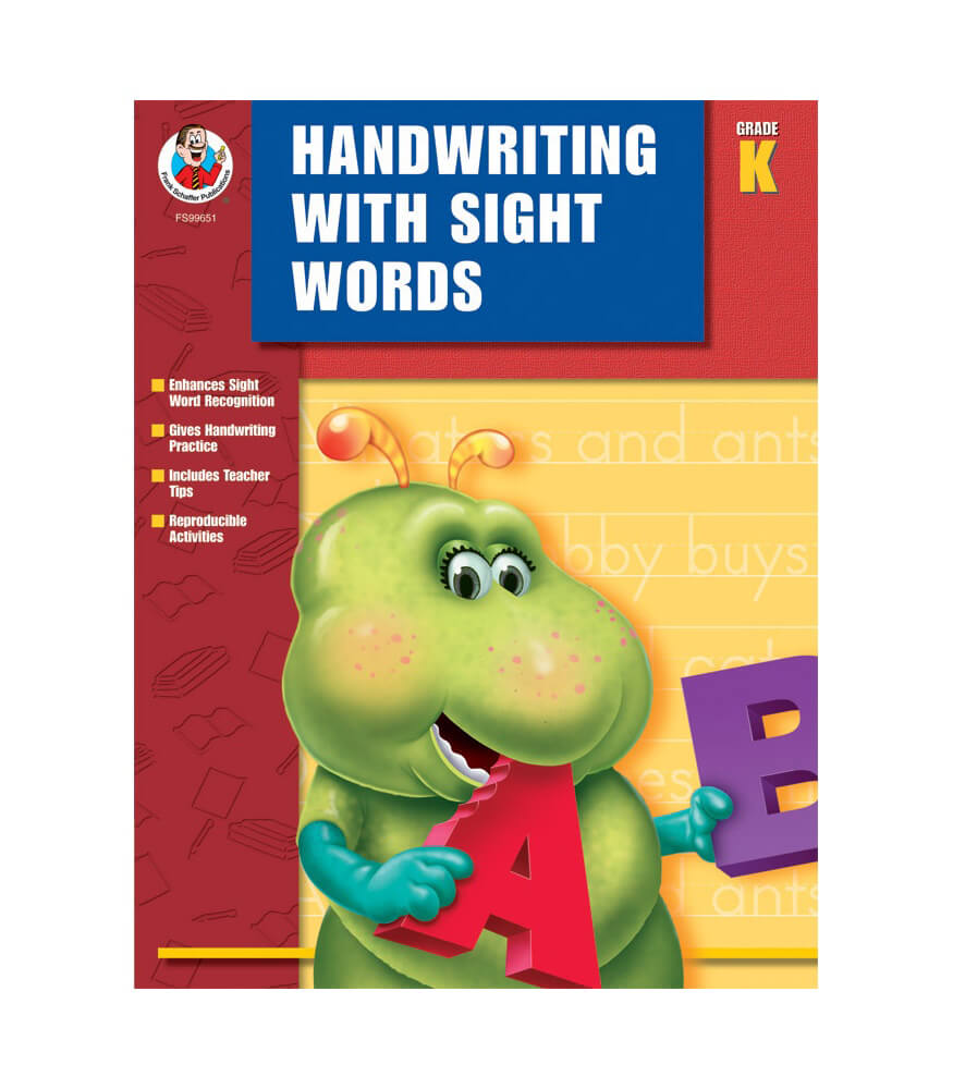 Handwriting with Sight Words Workbook Product Image