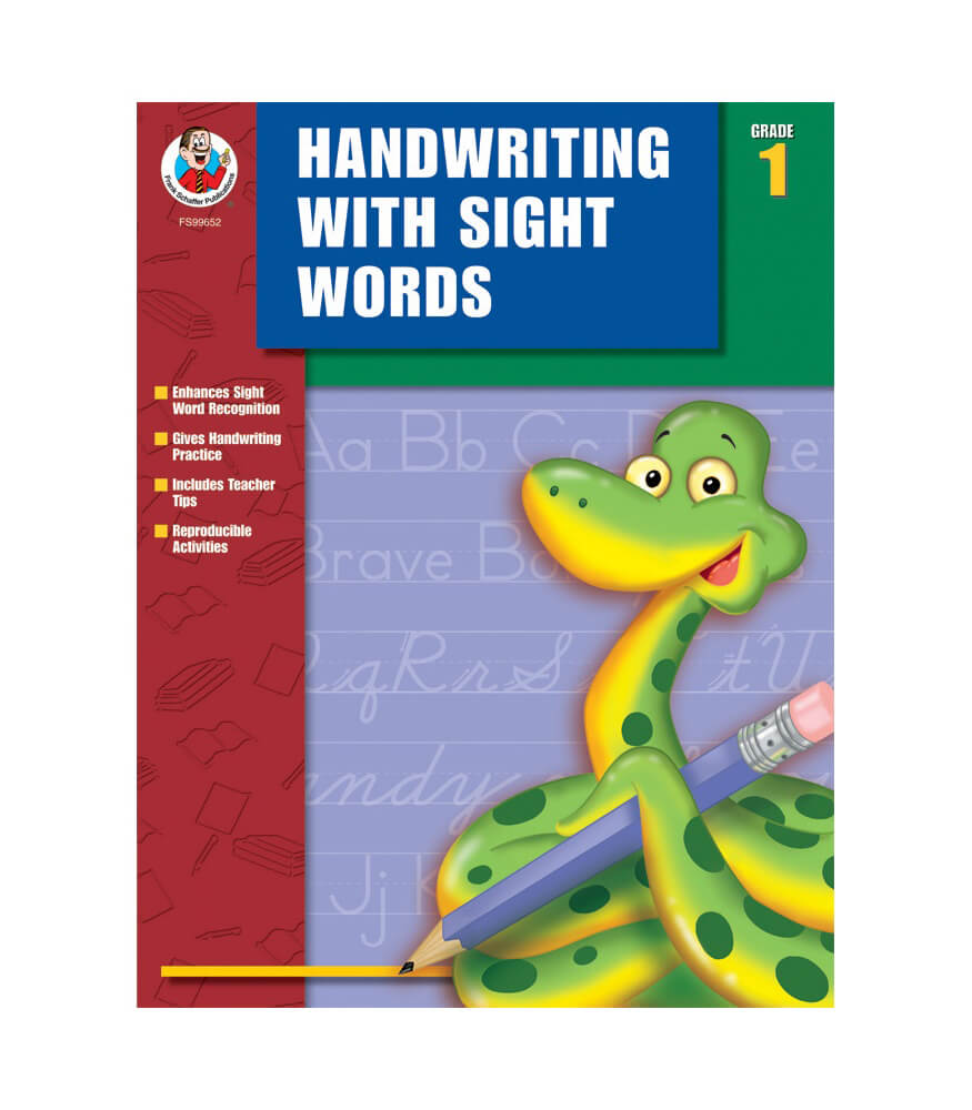 Handwriting with Sight Words Workbook