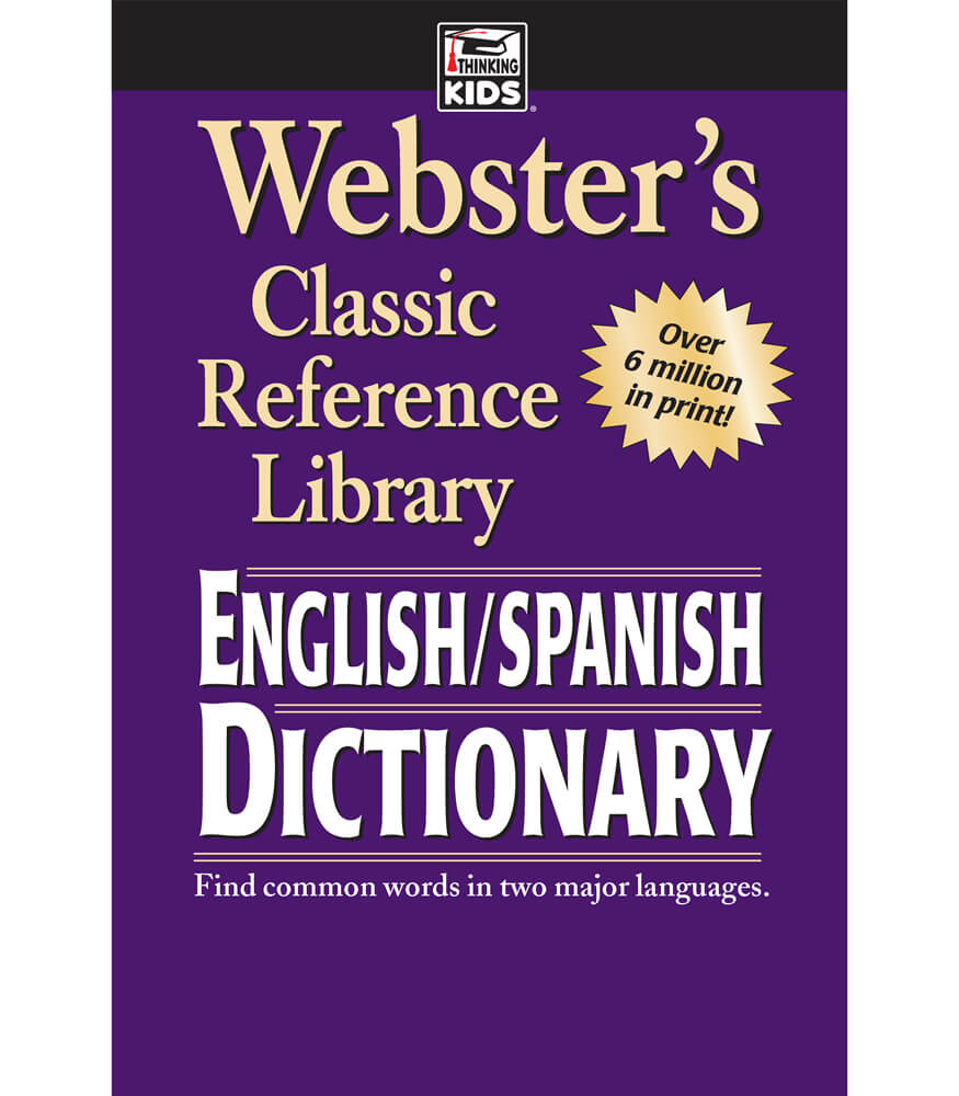 Webster s english spanish dictionary resource book carson dellosa