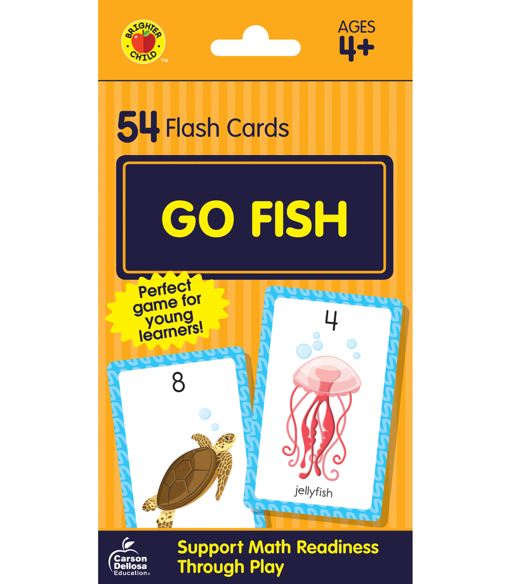 go fish card game grade pk 2 carson dellosa publishing