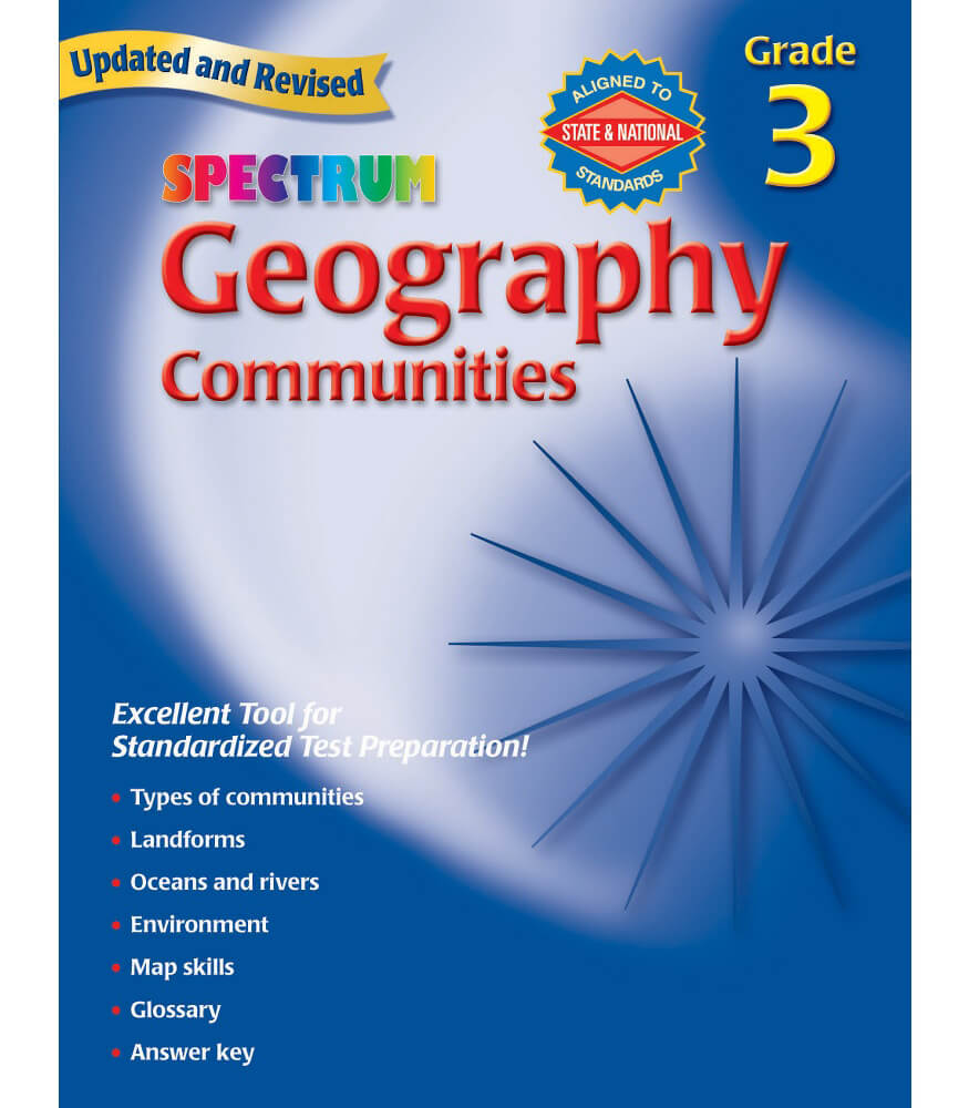 Geography Workbook Product Image