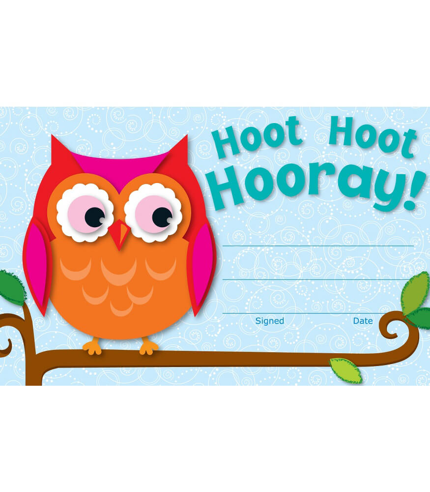 Hoot Hoot Hooray! Recognition Awards Product Image