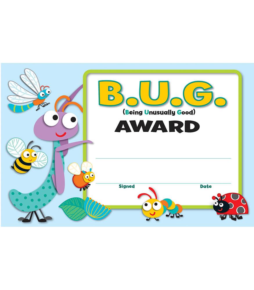 Buggy for Bugs Recognition Awards Grade PK-5 | Carson ...