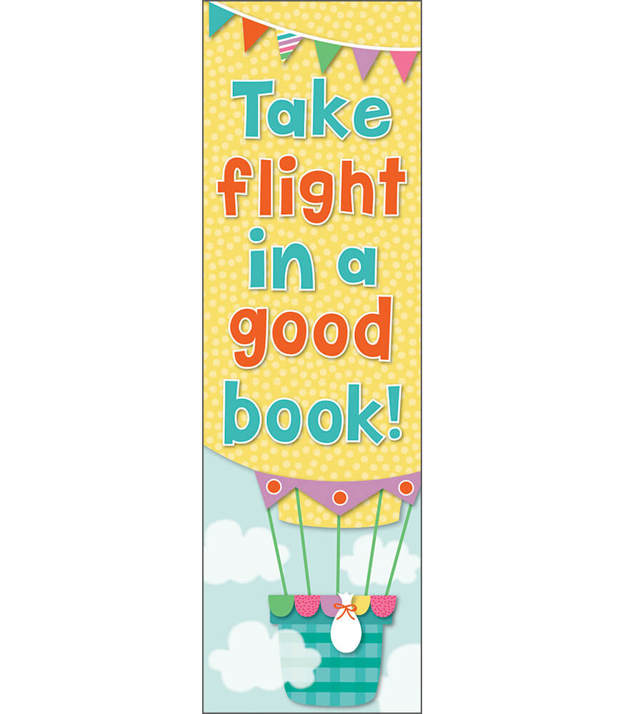 Up and Away Bookmarks