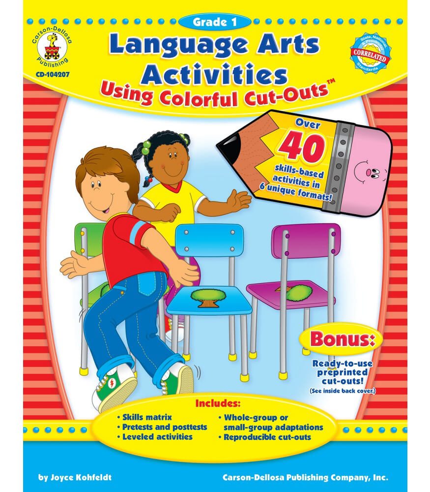Language Arts Activities Using Colorful Cut-Outs™ Resource Book Product Image