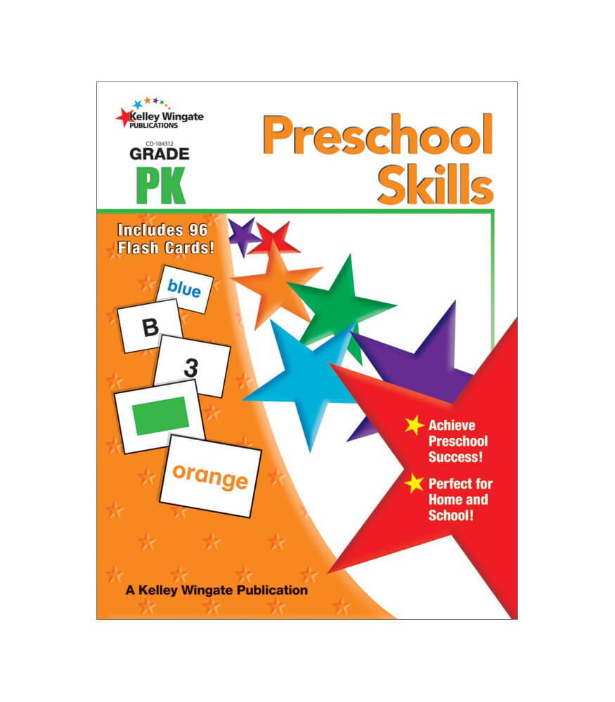 Preschool Skills Workbook