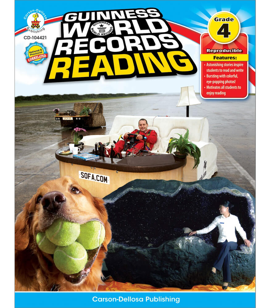 Guinness World Records® Reading Resource Book