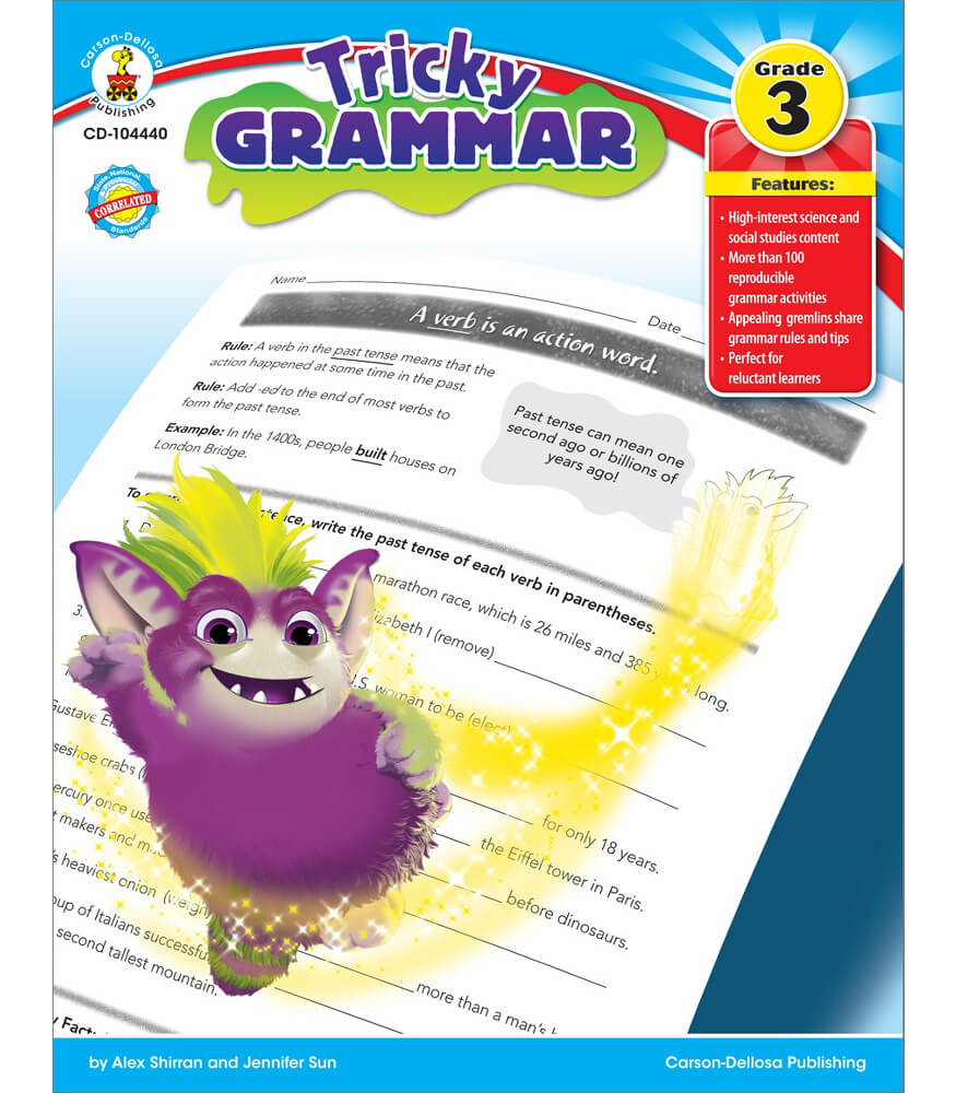 Tricky Grammar Resource Book