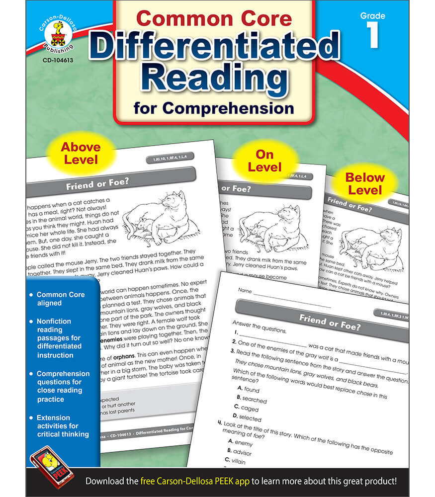 Differentiated Reading for Comprehension Resource Book