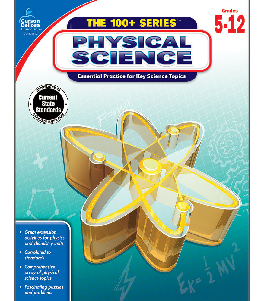 Physical Science Workbook Grade 5-12 | Carson-Dellosa ... |Science Workbook