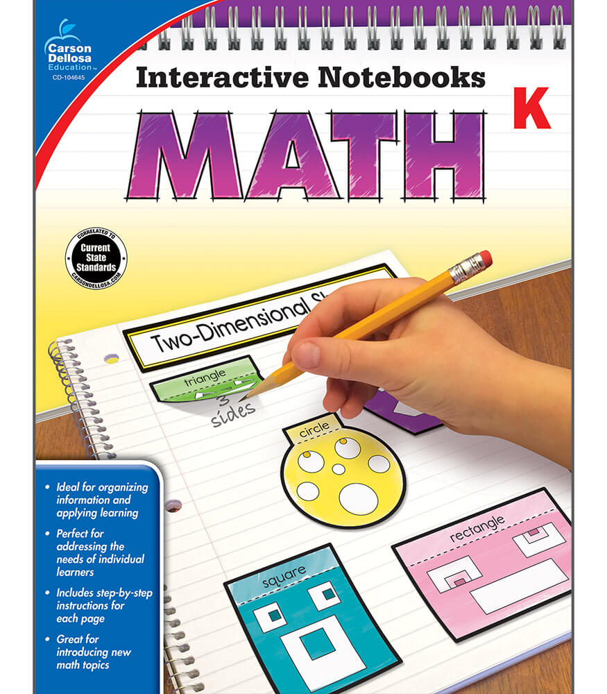 Worksheet First Grade Math Books interactive notebooks math resource book grade k carson dellosa book