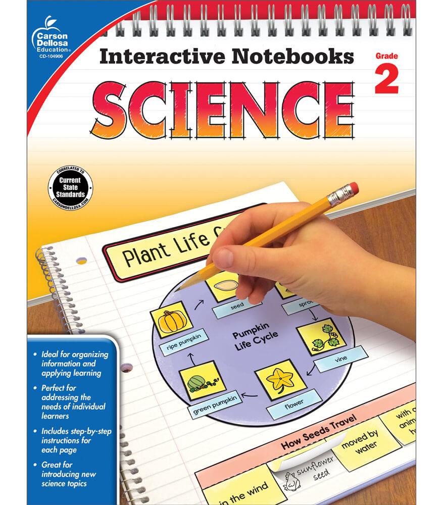 Interactive Notebooks: Science Resource Book Grade 2 | Carson ...