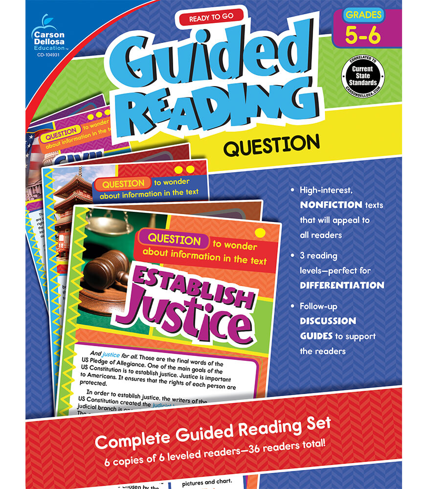 Guided Reading: Question Resource Book