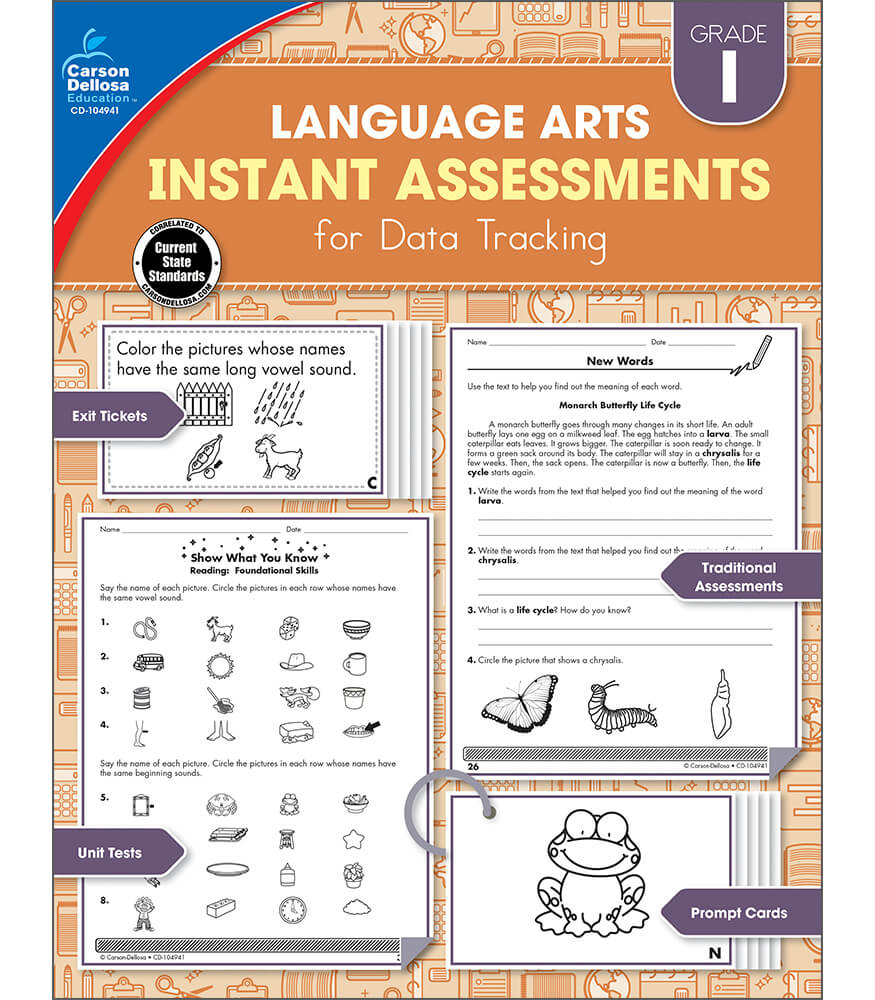 Instant Assessments for Data Tracking Resource Book