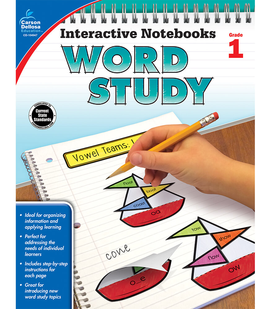 Interactive Notebooks: Word Study Resource Book