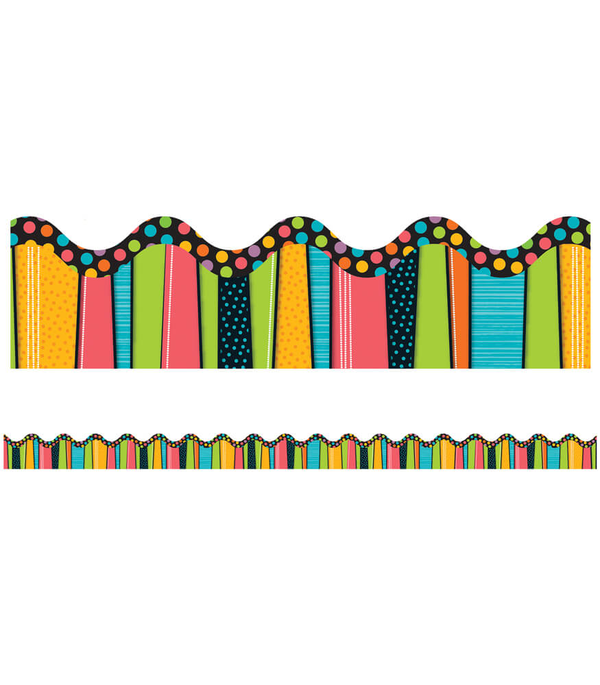Stylin' Stripes Scalloped Borders Product Image