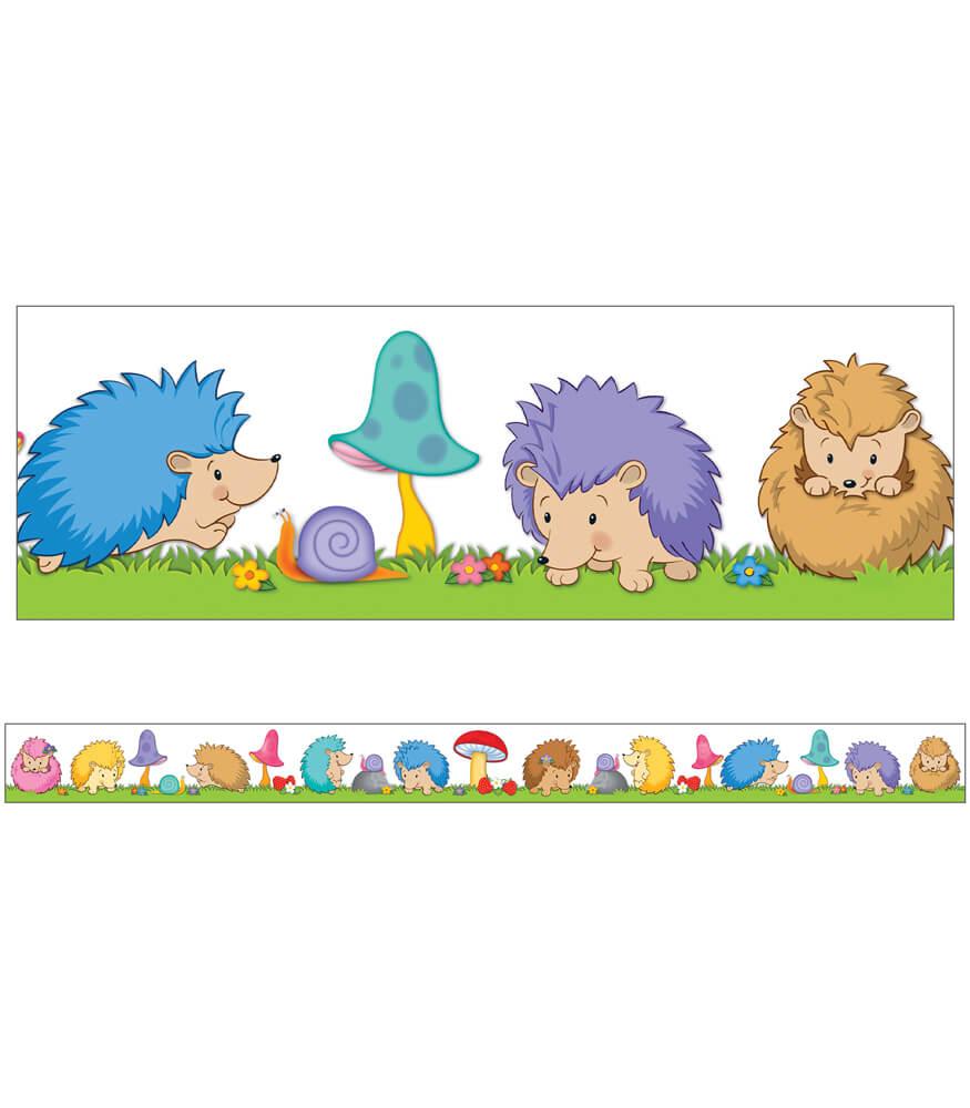 Hedgehog Classroom Decor ~ Happy hedgehogs straight borders grade pk carson