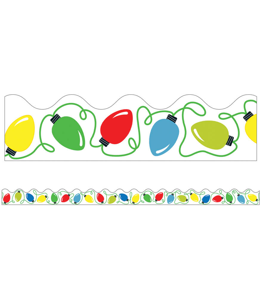 Holiday Lights Scalloped Borders Product Image